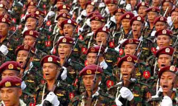 Myanmar Military Very Strong