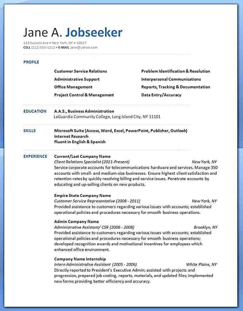 Customer service Resume Skills Examples examples resume examples